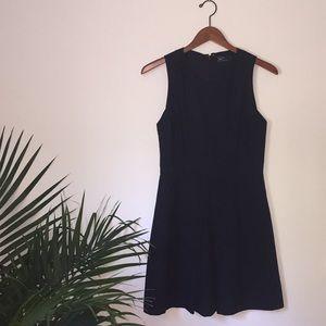 Gap Black semi Fit and Flare Cocktail Dress